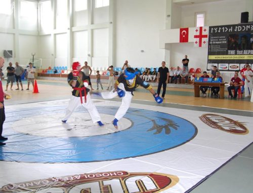 "World Federation Alpagut 23-28 August 2016 in Georgia, the Olympic complex in the town of Ozurgeti held a ""World Cup"" in Alpagut"