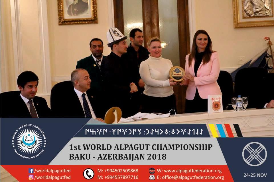 Dünya Alpagut Federasyonu toplantısı Bakü'de yapıldı